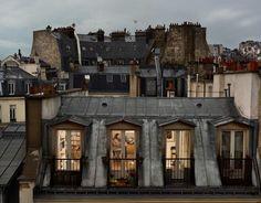 // Rooftop Apartment in Paris.