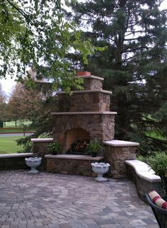 Outdoor Fireplaces | Twin City Fireplace and Stone Company - Minneapolis, MN - Indoor and Outdoor Fireplaces, Inserts, Stoves, Brick and Stone, Patios, Chimney Repair, and More