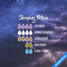 Essential Oils Guide, Essential Oils For Sleep, Essential Oil Scents, Essential Oil Diffuser Blends, Essential Oil Uses, Doterra Essential Oils, Young Living Essential Oils, Sleeping Essential Oil Blends, Essential Oil Combinations
