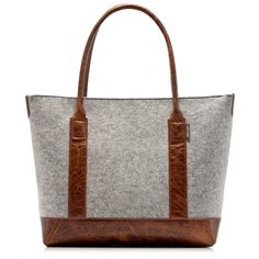 Grey Boat Bag - Tan Leather | Graf & Lantz