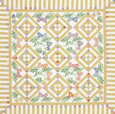 Cottage Charm downloadable project--  $7.95---saw this exact quilt this last weekend at a quilt show---won Best of Show