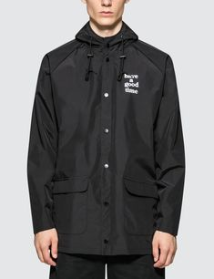 8b4bfa08ba78 Have A Good Time Logo Rain Jacket Rain Jacket