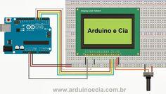 Ligação Arduino - Display LCD 128x64