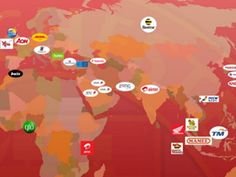 Interactive Map Of Manchester United Sponsors