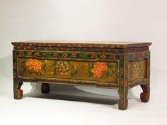 Tibetan Choksar With Original Painting - 19thC | Indigo Asian Antiques & Interiors
