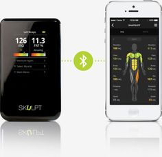 Skulpt Aim, $200; skulpt.me While most devices are about tracking the means of getting fit, Skulpt takes an entirely different approach by going straight to the source to monitor progress: Your physiology. With built-in electrodes, the gadget scans any part of your body and reads muscle quality and body fat percentage, tracking muscle development in real time. For those impatient to see how their regime is working, this is huge: While it can take a few weeks to see physical results manifest…