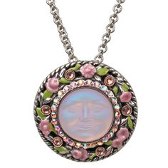24) Expect Miracles Seaview Moon Pin/Pendant Necklace http://kirksfollystore.com/necklaces/expect-miracles-seaview-moon-pin/pendant-necklace-silvertone/