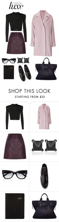 """""""A spot of pastel"""" by stefdee ❤ liked on Polyvore featuring Balmain, Maison Margiela, River Island, Eva Fehren, Marni, Pierre Hardy, Barneys New York and 3.1 Phillip Lim"""