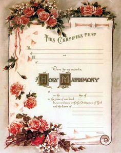 """it will say """"handfasting"""" rather then holy matrimony :)"""