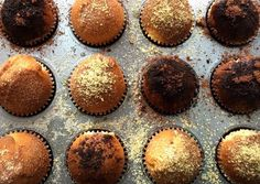 Kürtőskalács muffin Muffin Recipes, Cake Recipes, Baking, Breakfast, Food, Addiction, Morning Coffee, Easy Cake Recipes, Bakken