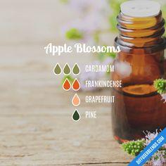 Essential Oils Room Spray, Essential Oils Guide, Essential Oil Diffuser Blends, Essential Oil Uses, Doterra Essential Oils, Yl Oils, Diffuser Recipes, Apple Blossoms, Incense