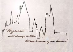 hogwarts skyline - Google Search