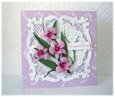 Cooktown Orchid by frenziedstamper - Cards and Paper Crafts at Splitcoaststampers