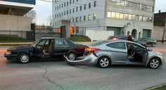Saab 9000 Destroyer  http://www.saabplanet.com/saab-9000-in-real-life-the-small-overlap-crash-test/