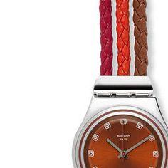 Cord strap watch - Swatch