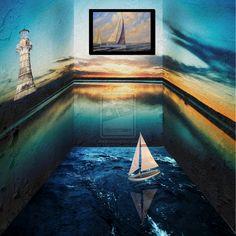 Surreal Room by Jonzr18 on DeviantArt
