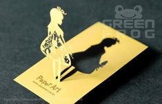 FREE Shipping : 200 Customized Business Cards, Laser Cut Business Cards, Unique Name Cards, 3D Busin