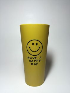 A personal favorite from my Etsy shop https://www.etsy.com/listing/264865075/have-a-happy-day-cup-1960s-or-70s-smiley