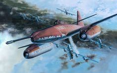 Messerschmitt Me 262A-1a/U4 Bomber Interceptor by Masao Satake