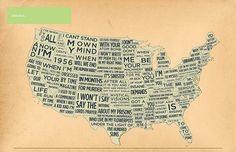 """Allen Ginsberg's """"America."""" I absolutely love this graphic."""