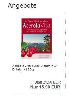 Kleine Vitamin C Bombe. http://www.cellavita.de?refID=weibel
