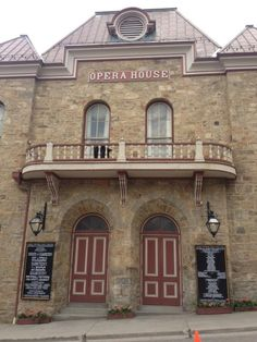 Historic Colorado. Central City Opera House.  This was my first opera experience...the house is so beautiful.