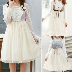 Material:made+of+cotton+and+chiffon  Colors:Purple,Brown,Blue  Size:  M:Length:70cm,Waist:64-80cm,Bust:76-92cm,  L:Length:71cm,Waist:68-84cm,Bust:80-96cm,  XL:Length:72cm,Waist:72-88cm,Bust:84-100cm,