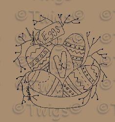 chestnut junction primitive patterns | Primitive Easter Patterns | Patterns Gallery