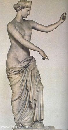 Ancient Greek & Roman Sculpture: Aphrodite Venus de Capua
