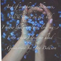 Guillotine by Jon Bellion
