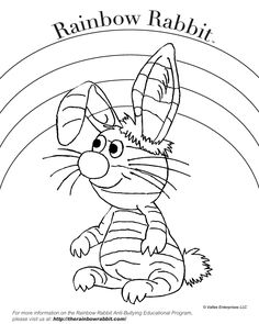 Happy Friday! You can download  Rainbow Rabbit coloring sheets on out website as part of our back to school freebie giveaways! 🖍