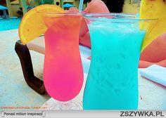 kolorowe drinki ;)