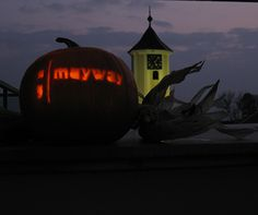The Mayway Halloween Pumpkin:    Trick or treat, trick or treat  Here we come up the street    Newsletters, websites and flyers too    We are here to advertise you