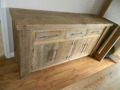 Solid Wood Hudson Sideboard #eatsleeplive #Reclaimedwood