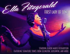 Karen Marie Richardsons channels Ella Fitzgerald in an upcoming Artists Lounge showcase at the Metropolis Performing Arts Centre in Arlington Heights.