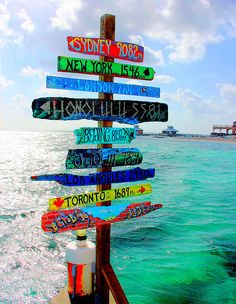 Which way are you headed?