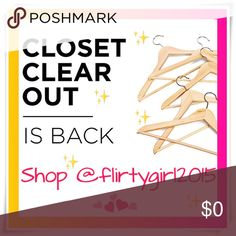 🙌🏽DISCOUNTED SHIPPING🙌🏽 💥  C L O S E T -  C L E A R - O U T ! ! ! 💥 Get discounted shipping when the price drops by 10% Didn't see the price drop on your favorite item, yet? Just Ask!! 🙋🏽 (minimum purchase price must be $10 ; Make An Offer purchases do not qualify) Other