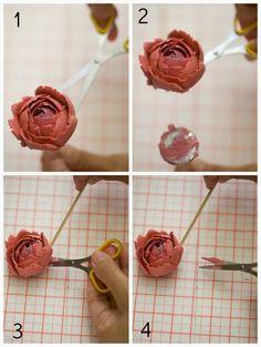 masam manis: Pelajari cara membuat bunga Ros dari buttercream