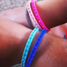 Ops!Love coloured tennis bracelets