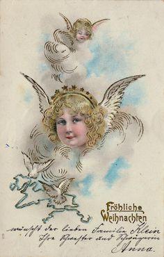 Weihnachtskarten aus dem Kaiserreich - http://weihnachten-neu.org/2014/09/weihnachtskarten-aus-dem-kaiserreich/