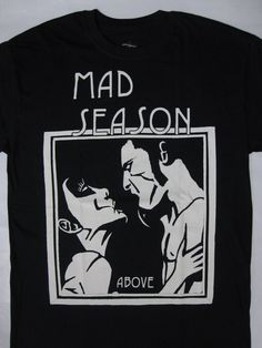 MAD SEASON - Above  t-shirt ( s-xxl ) top- hard rock /metal merch!!