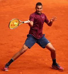 Blog Esportivo do Suíço: Kyrgios cresce nos tiebreaks e vence a primeira em Roland Garros