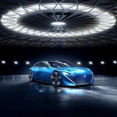 Peugeot Instinct Concept 2017 Marca do Leão apresenta em Genebra o Instinct carro que explora o conceito de 'liberdade'. Segundo a Peugeot o modelo Evolui em simbiose com todos os objetos conectados para viver a mobilidade de uma nova maneira. E pela primeira vez a plataforma I.o.T[1]é embarcada em um automóvel. Trata-se da tecnologia Samsung Artik Cloud que integra o automóvel à nuvemde seu proprietário.  O Instint disponibiliza quatro modos de deslocamento dois modos de condução (Drive…