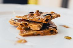 This recipe, Tropical Food's Trail Mix Brittle, was created by Ashley Cummings.  #tropicalfood  #maplesyrup