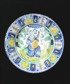 Place of origin:  Pickleherring, England (possibly, made) Montague Close, England (possibly, made) Date:  1638 (made) Artist/Maker:  Irons, Richard (possibly, producer) Pickleherring Pottery (possibly, manufacturer) Montague Close pottery (possibly, manufacturer) Materials and Techniques:  Tin-glazed earthenware (delftware) Museum number:  C.56-1973 Gallery location:  British Galleries, room 56d, case 17