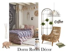 """I love my room!"" by faithisawsme ❤ liked on Polyvore featuring interior, interiors, interior design, home, home decor, interior decorating, Plum & Bow, Rustic Arrow, Indigo 7 and CB2"