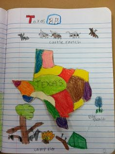Chicken, Crayons, and Diapers: Interactive Notebooking TEXAS style