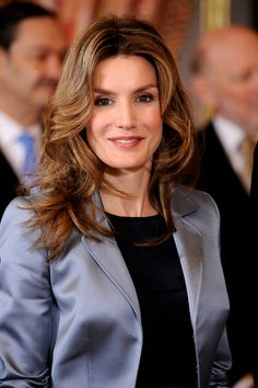 Princess Letizia - Spanish Royals Host Ambassadors Reception in Madrid