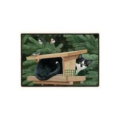 """Fiddler's Elbow Bad Kitty Doormat by Fiddler's Elbow. $19.89. Size: 27"""" x 18"""". Animal lovers, these mats are perfect for you!. Superior stain resistance makes clean up quick and easy - spray with windex and rinse off.. Constructed of decorative polyester face, high density rubber back, durable polypropylene. Features permanently dyed, vivid, fade-resistant colors. slide free coating.. FED541 Features: -Material: 100pct polyester face.-Durable polypropylene web trim.-Non-sk..."""