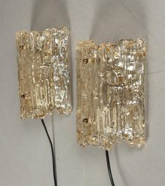 A Pair of Wall Light by Carl Fagerlund for Orrefors | From a unique collection of antique and modern wall lights and sconces at http://www.1stdibs.com/furniture/lighting/sconces-wall-lights/